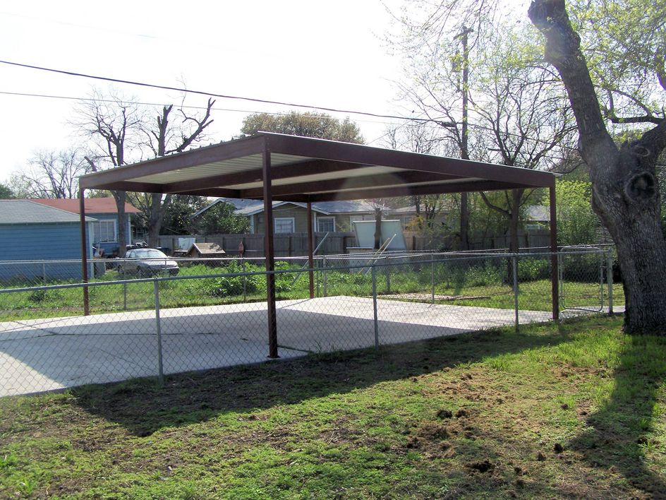 20 X 24 Stand Alone Carport Brown Carport Patio Covers