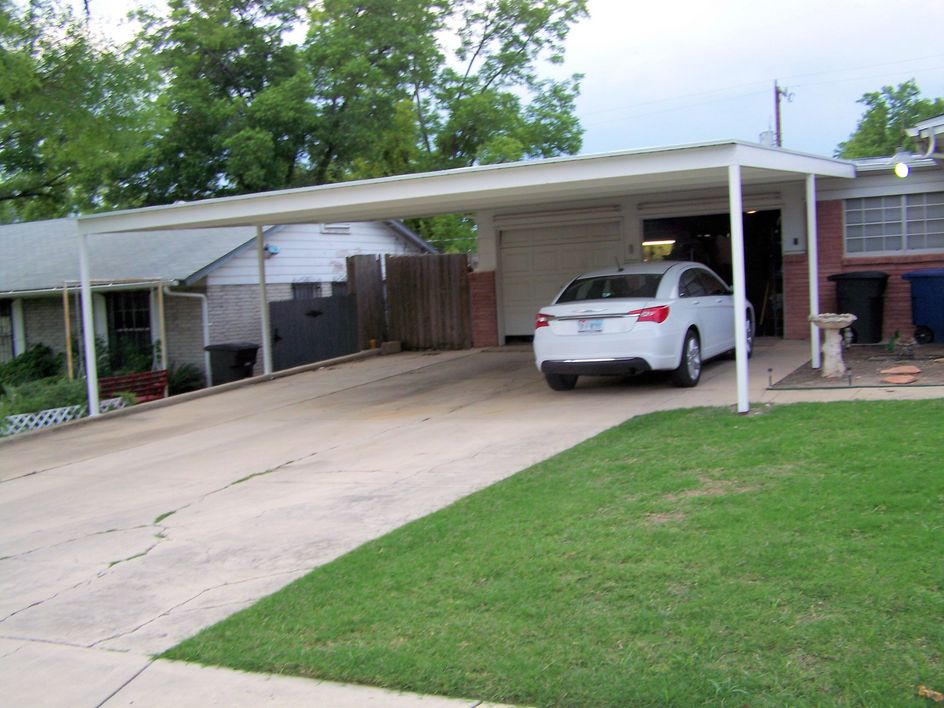 30 X 24 Attached Lean To Carport Front Yard Carport