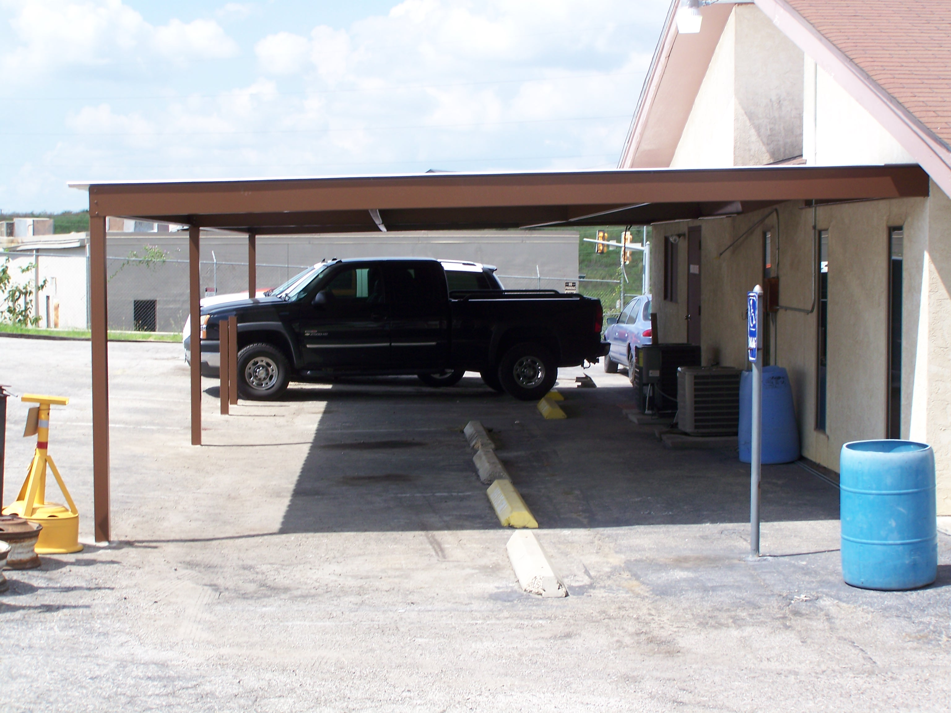 Covered Parking Installer San Antonio Texas Business