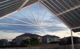 Starburst Patio Cover San Antonio