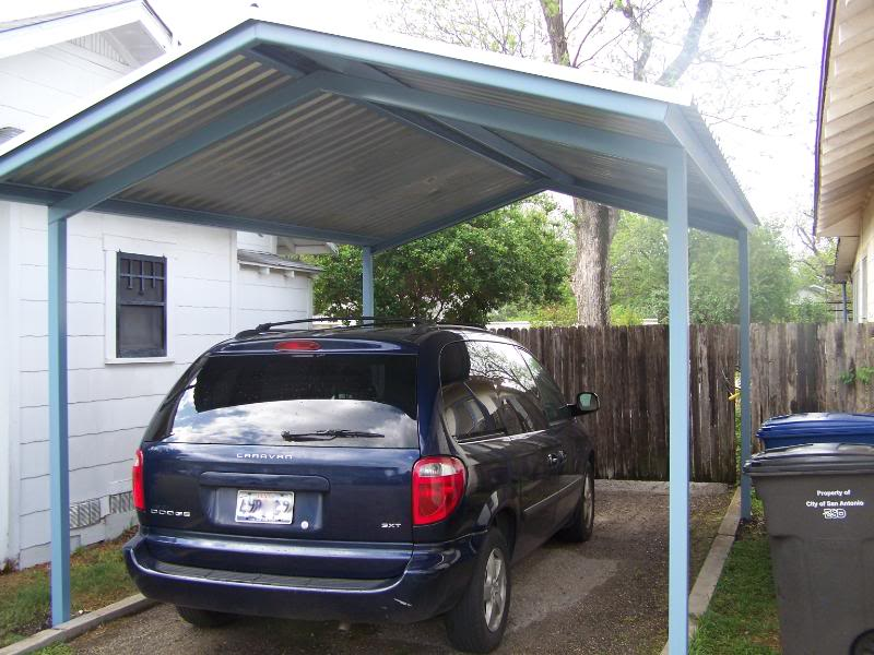 Stand Alone Carport Designs : Stand alone carport gabled a frame south san antonio