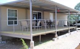 Ranch Trailer Patio Cover Deck