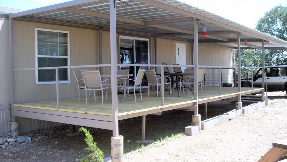 ... Ranch Trailer Patio Cover Deck ...