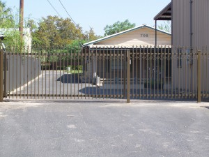 Custom Industrial Commercial Steel Gate