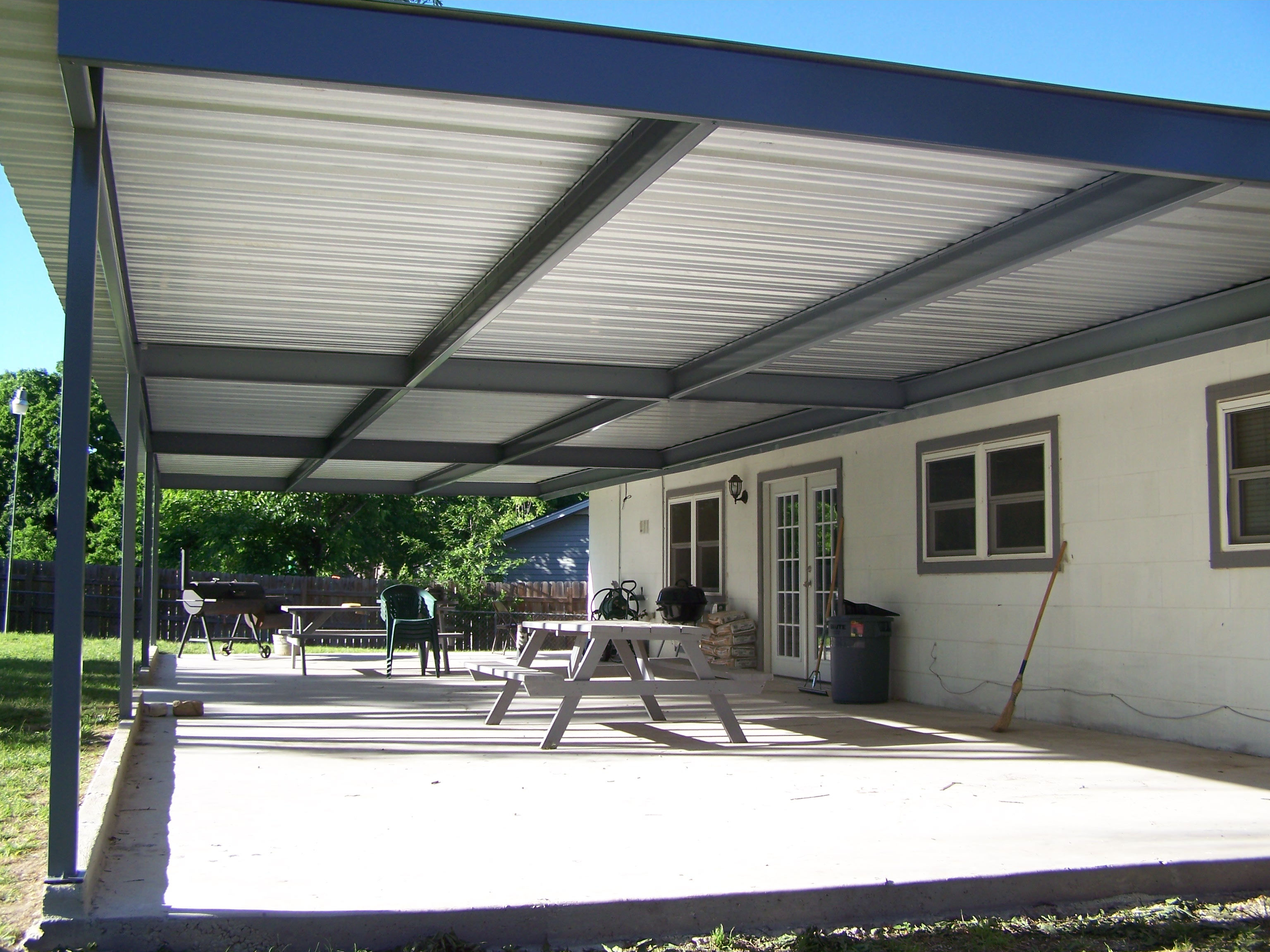 Patios with pergolas fully enclosed patios awning covered for Balcony awning