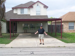 Carport Porch addition 21x30 b