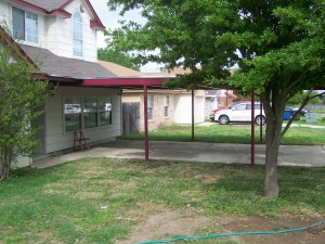 Carport Porch addition 21x30 e