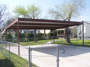 Metal Carport North Central San Antonio