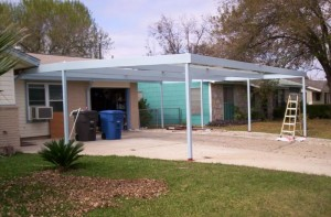 Norton carport South San Antonio