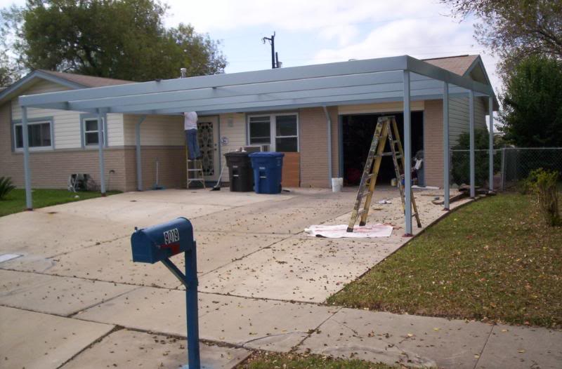 Custom Metal 2.5 Carport South San Antonio - Carport Patio ...