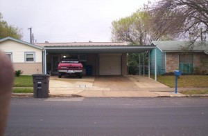 Norton carport South San Antonio b