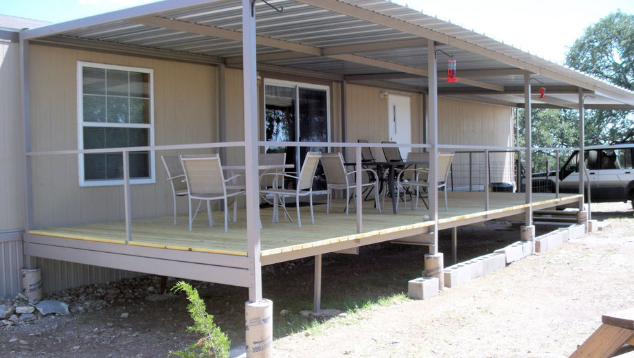 Patio Cover Ranch House San Antonio Carport Covers Awnings