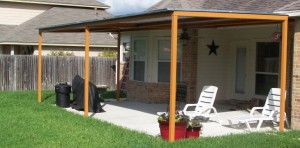 patio cover san antonio color matched