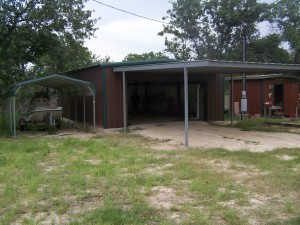 Attached Carport Wilson County