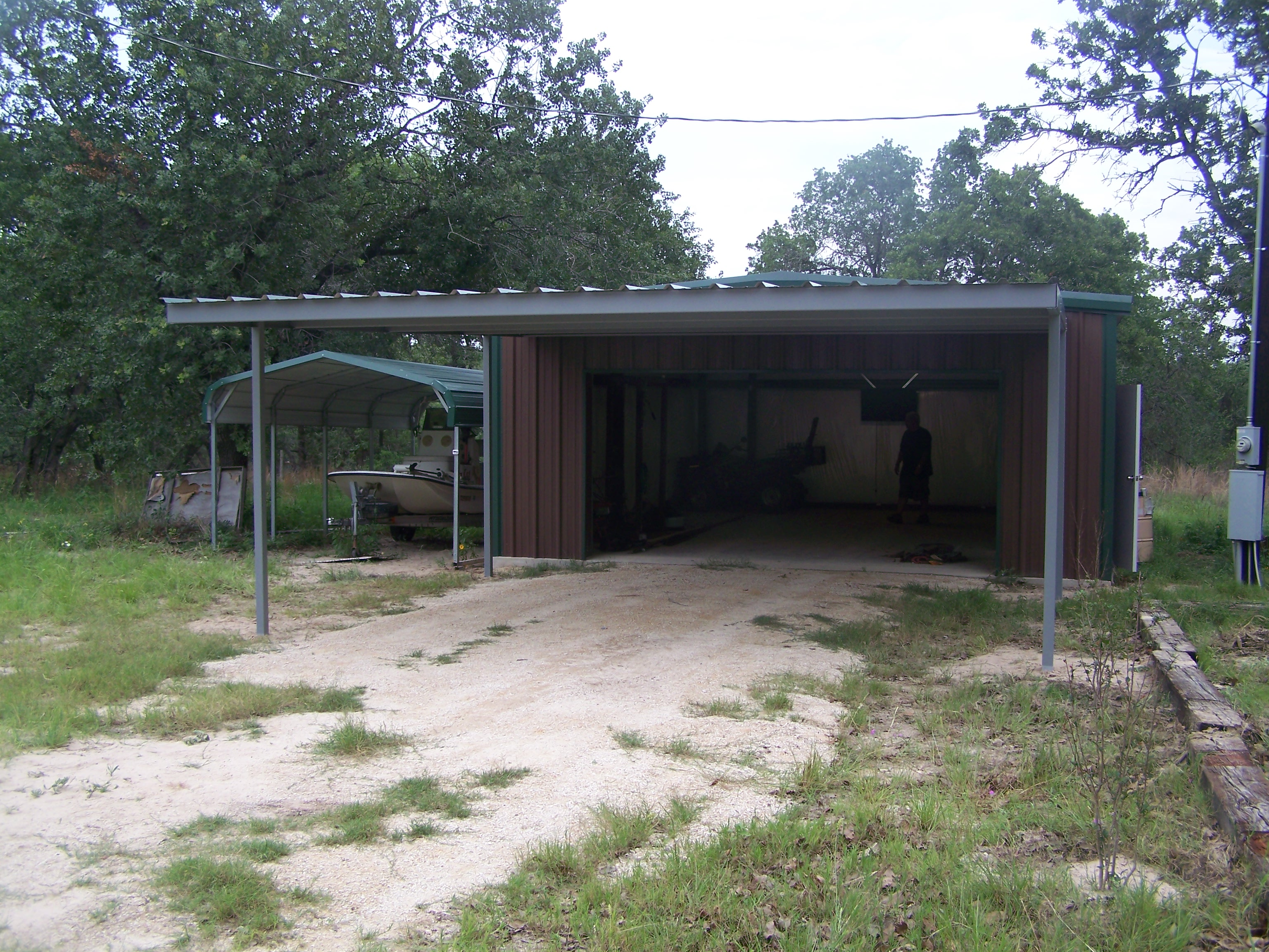 Attached carport pictures for Attached carport plans free