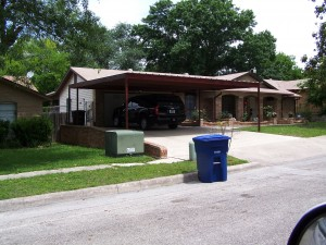 Two Car Carport North San Antonio