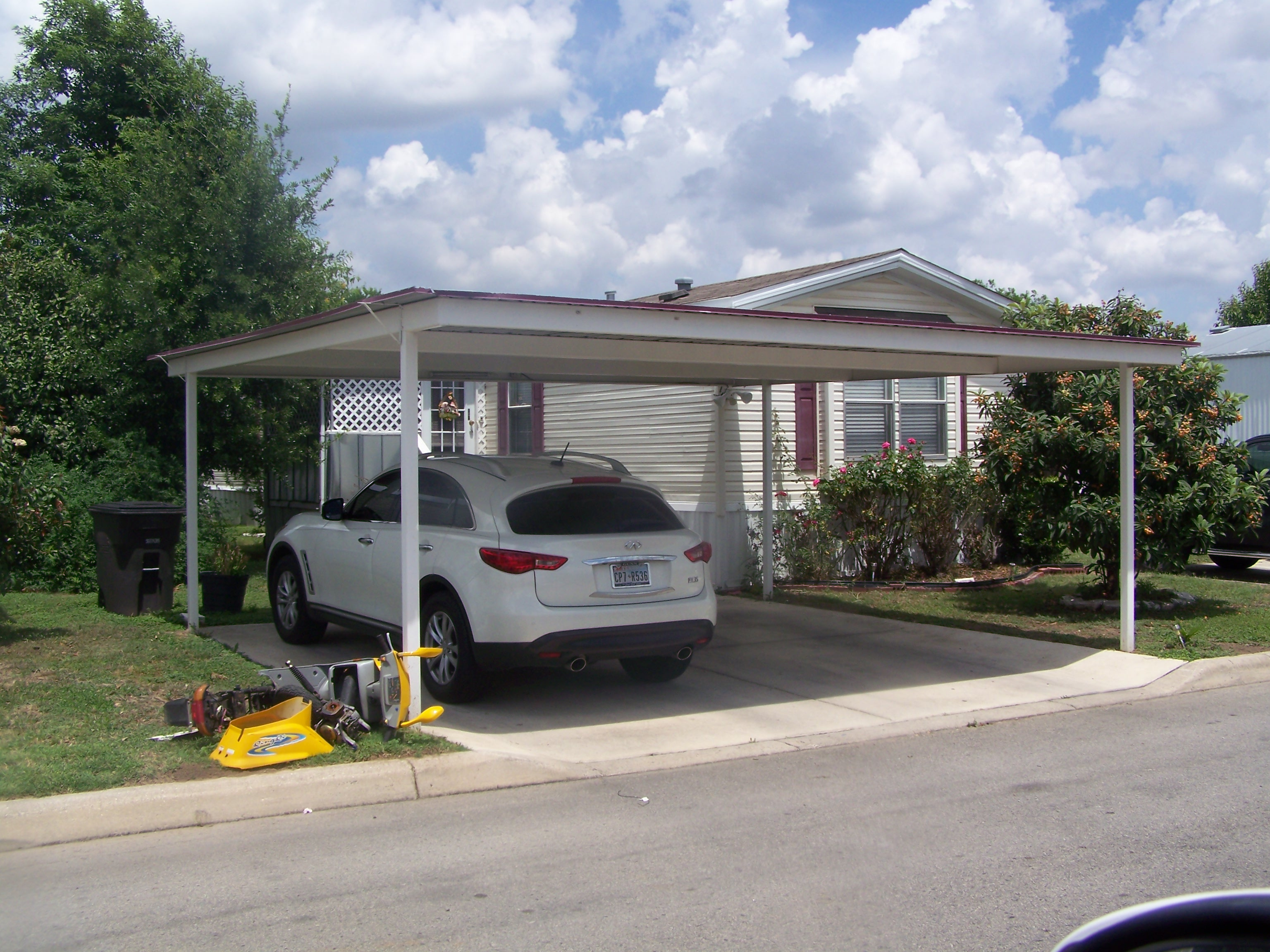 Carport covered carports for Carport one