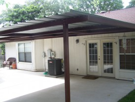 Custom Home Porch Cover Northwest San Antonio