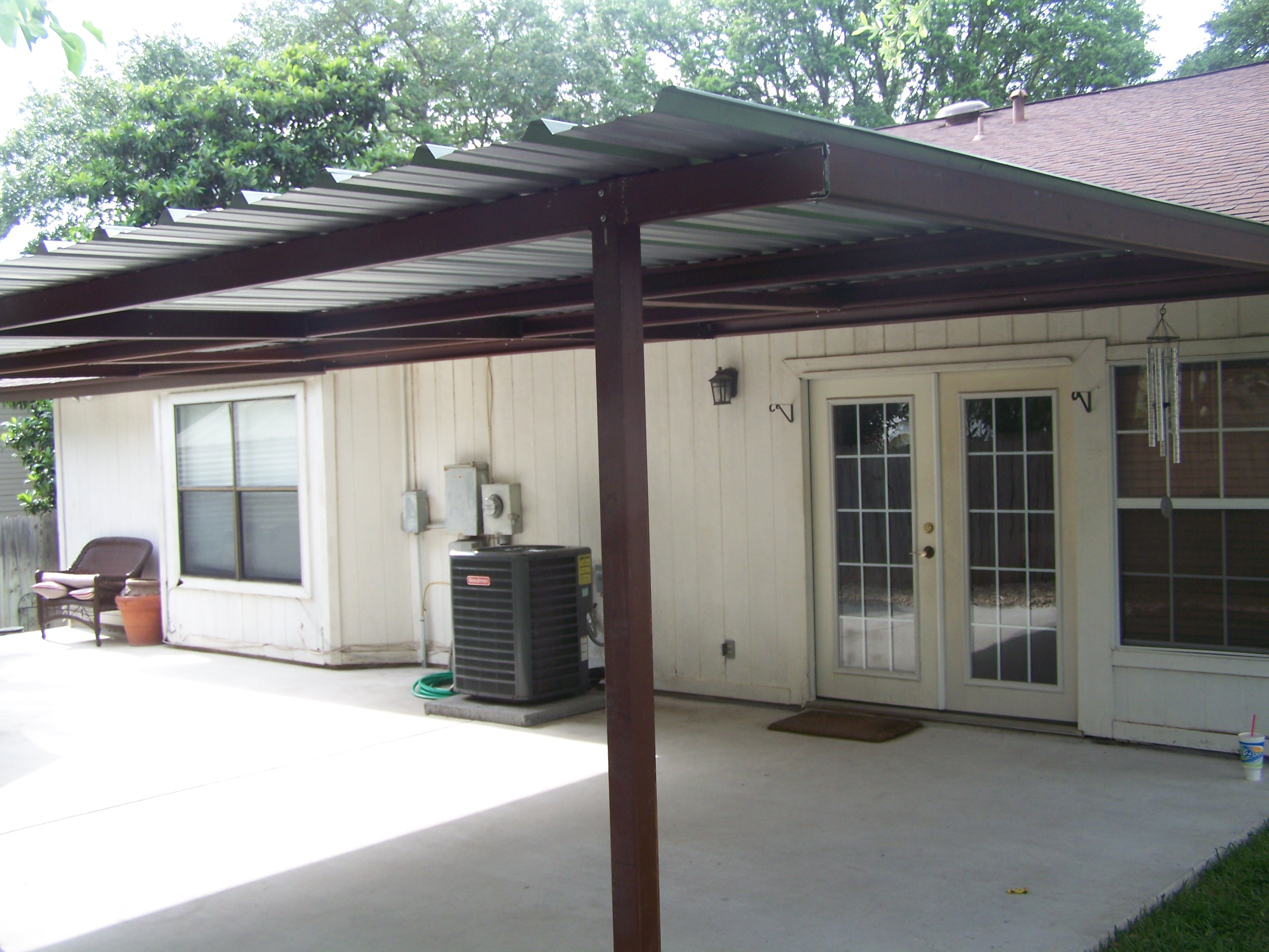 Custom Home Porch Cover Northwest San Antonio Carport