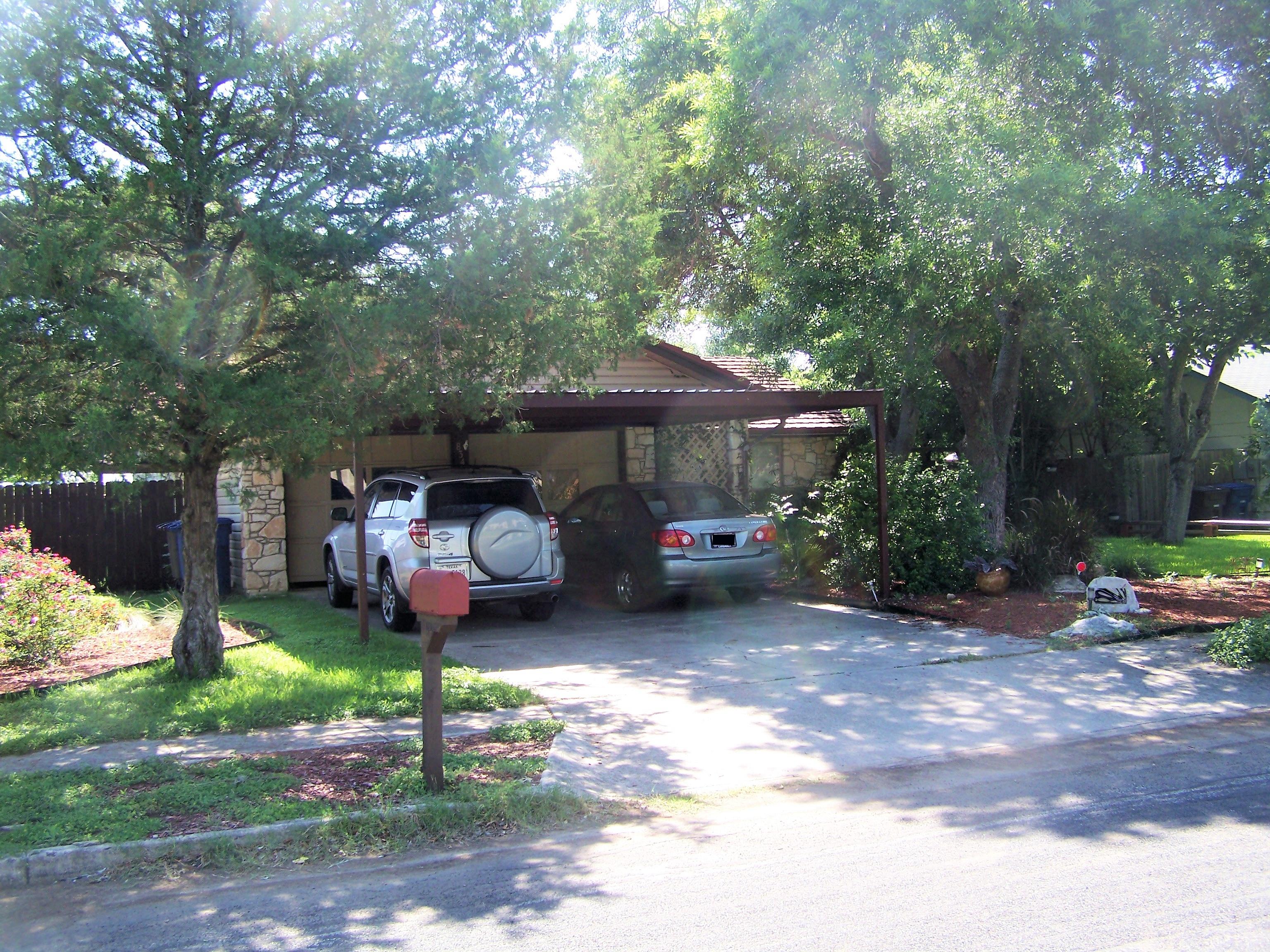 Attached 2 Car Carport Nw San Antonio Texas Carport