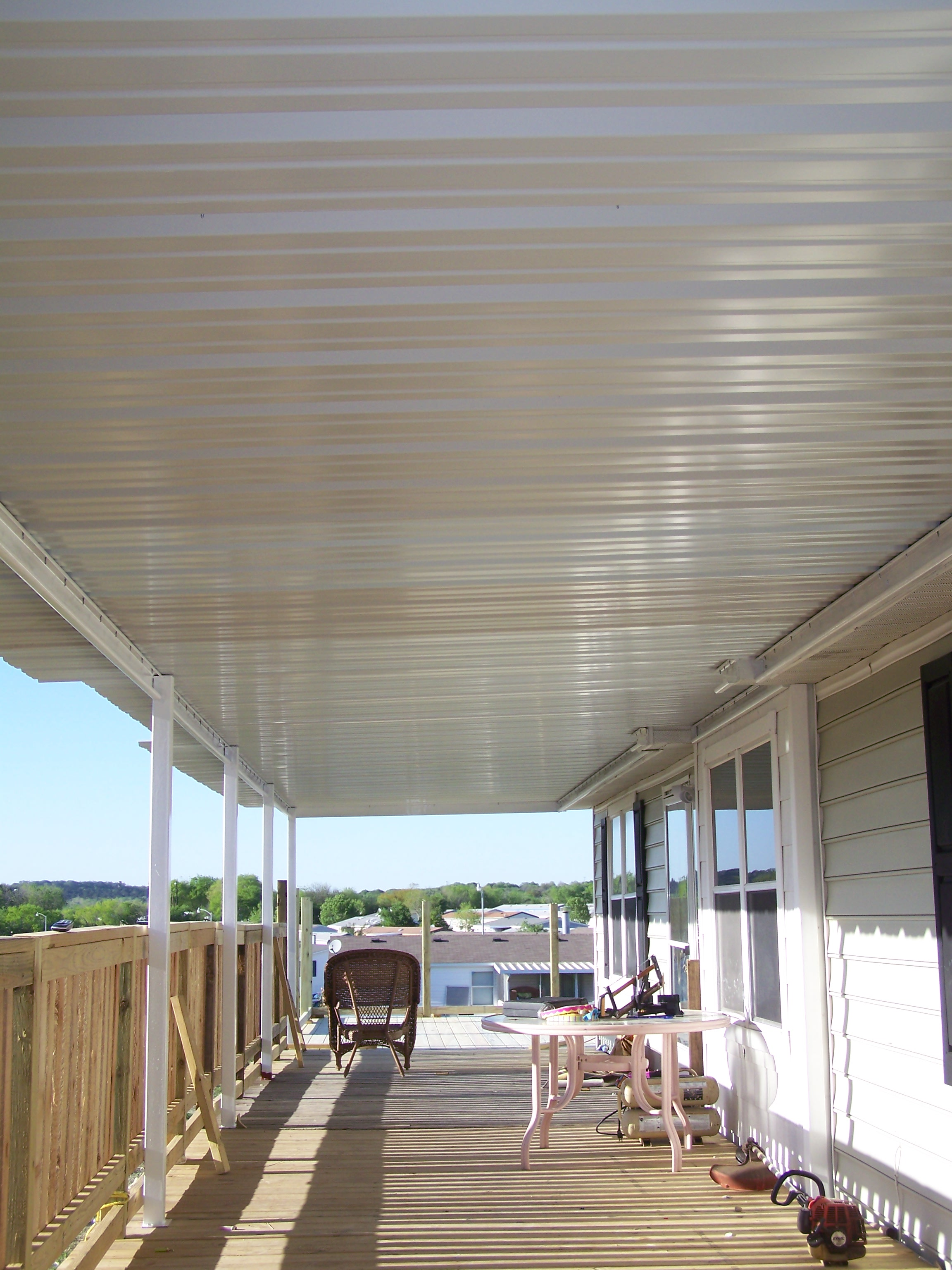 Mobile Home long awning (3) - Carport Patio Covers Awnings San ... on who makes the best carports, screen panels for carports, side-entry metal attached carports, detached carports, house attached carports, manufactured carports, prefab carports, mobile home carports california, wood built carports, homes with carports, wooden attached carports, mobile home attached garage, attached wood carports, mobile home carports and patio roofs, mobile home aluminum awnings carports, custom attached carports, affordable carports, mobile home attached to house, colonial carports, double wide mobile home carports,