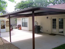 Good Attached Lean To Patio Cover North West San Antonio