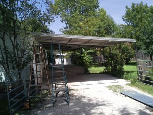 Large Awning Replacement Canyon Lake, Texas