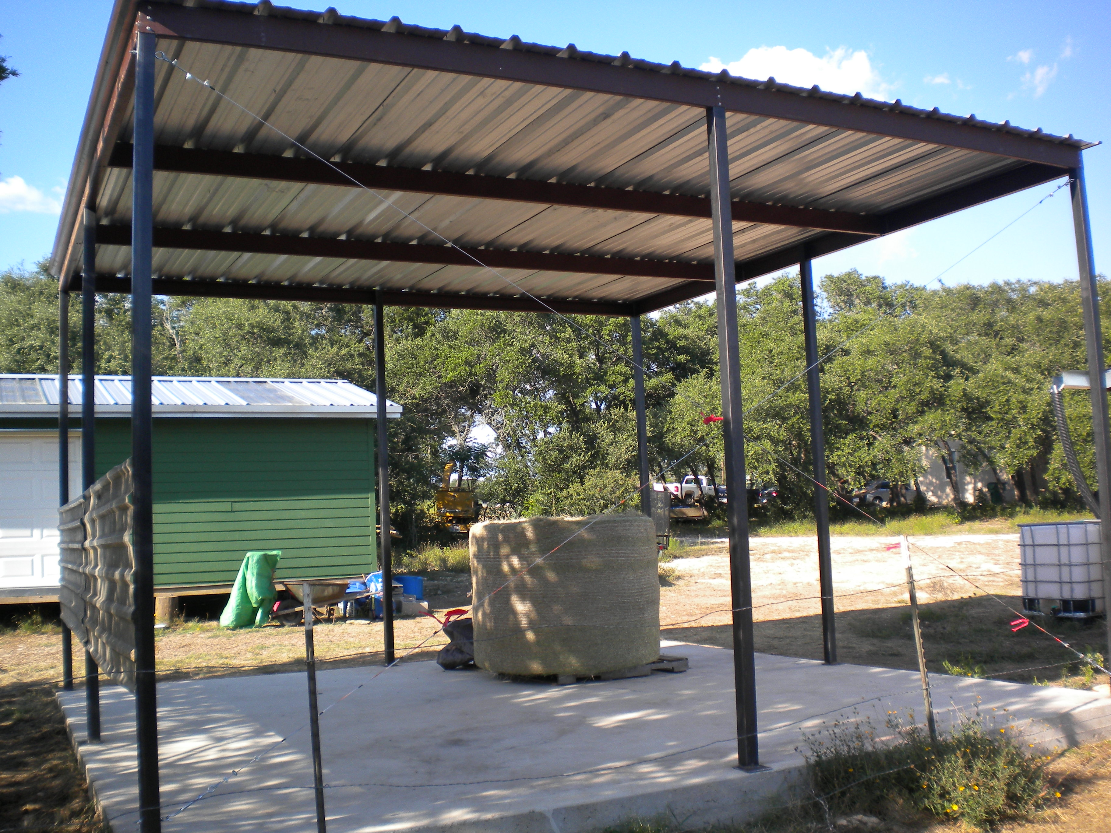 All Steel Awning Blanco Texas Carport Patio Covers