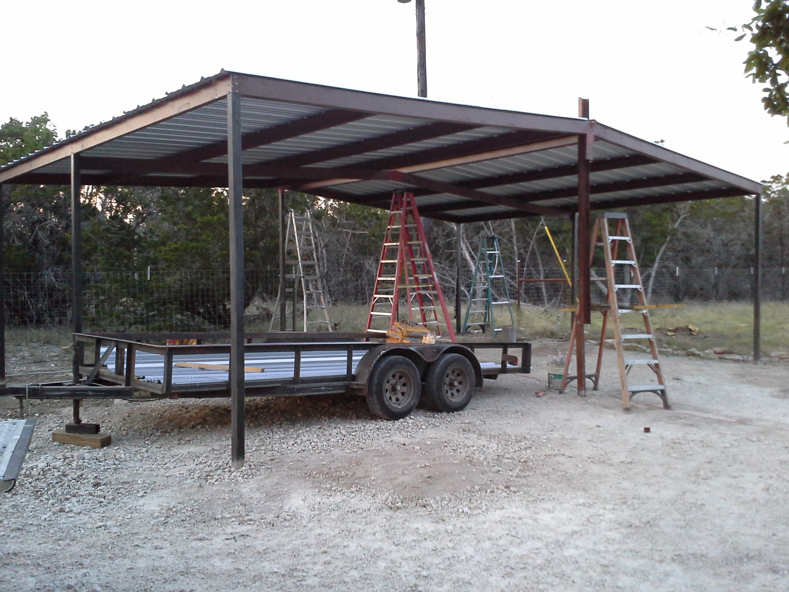 Lean To Carports Style : Lean to patio cover kit joy studio design gallery best