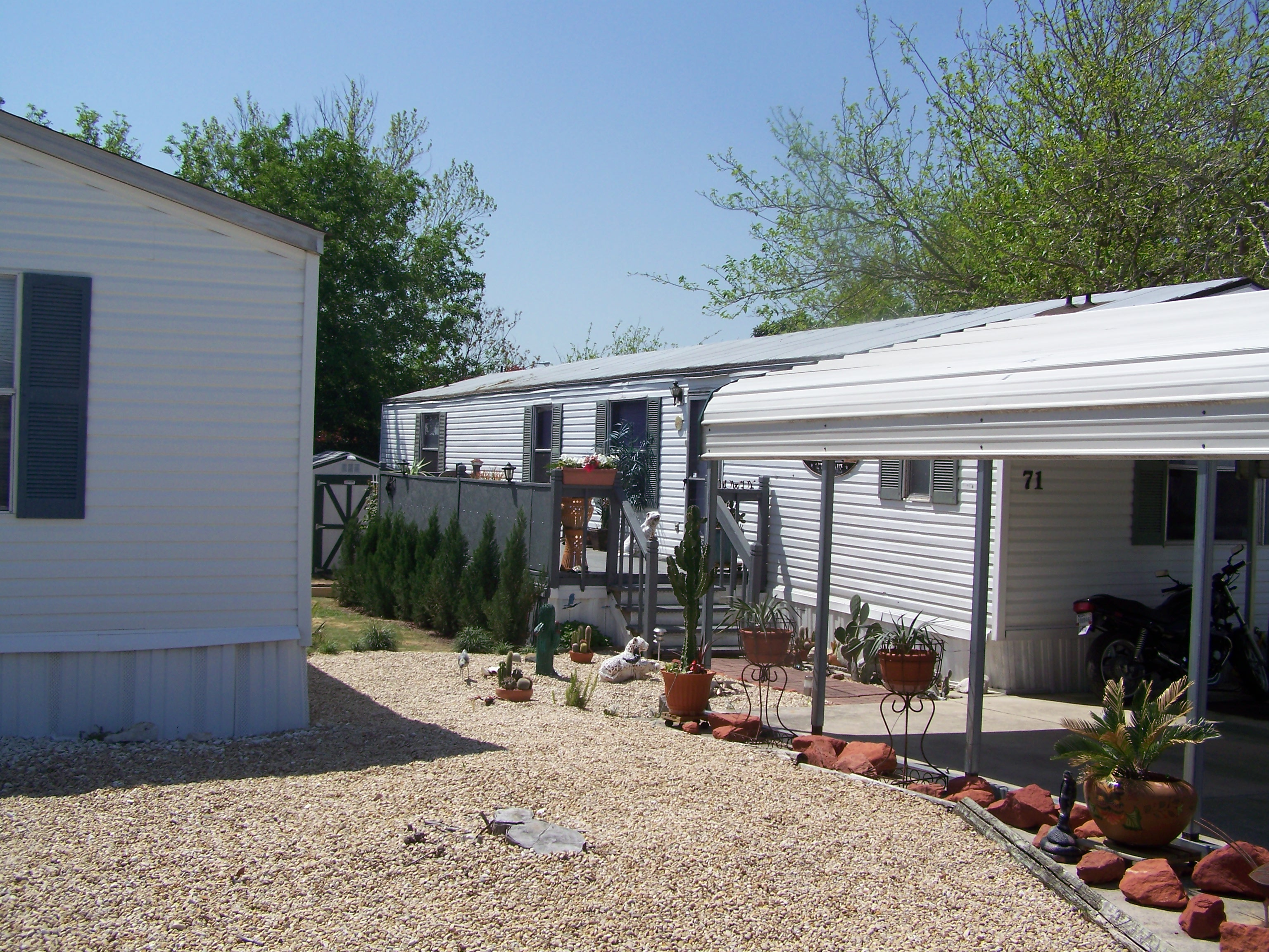 custom patio cover for mobile home windcrest