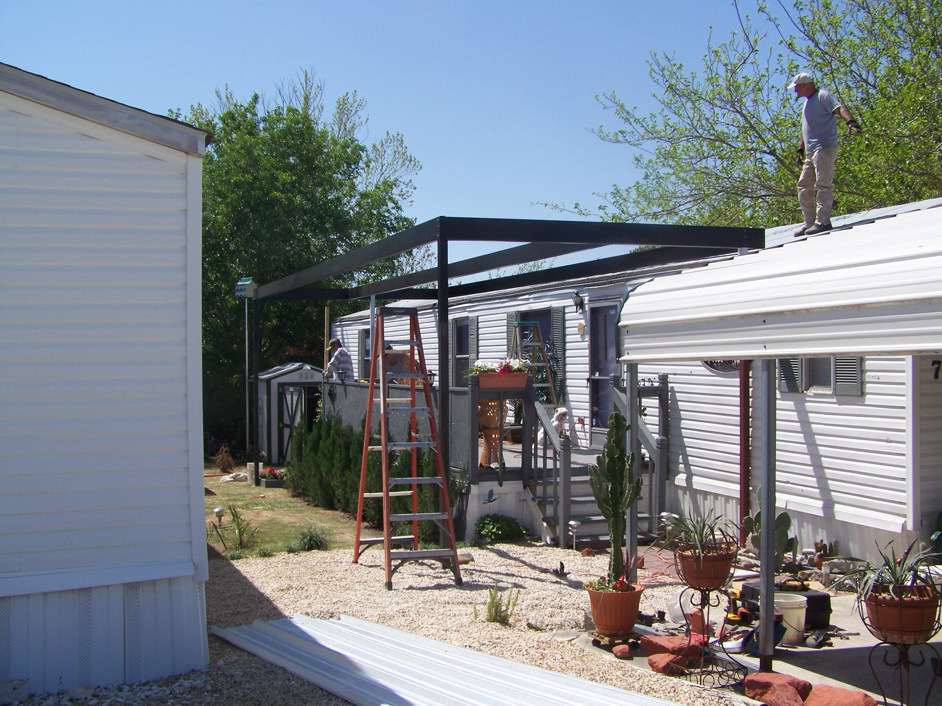 Mobile Home Patio Cover Plans