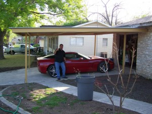 Carport San Antonio Single Car Northside
