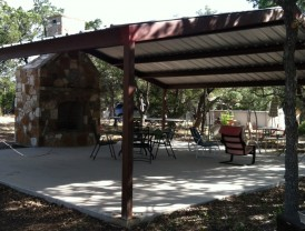 Custom Gabled Pavilion Pike Creek, Texas