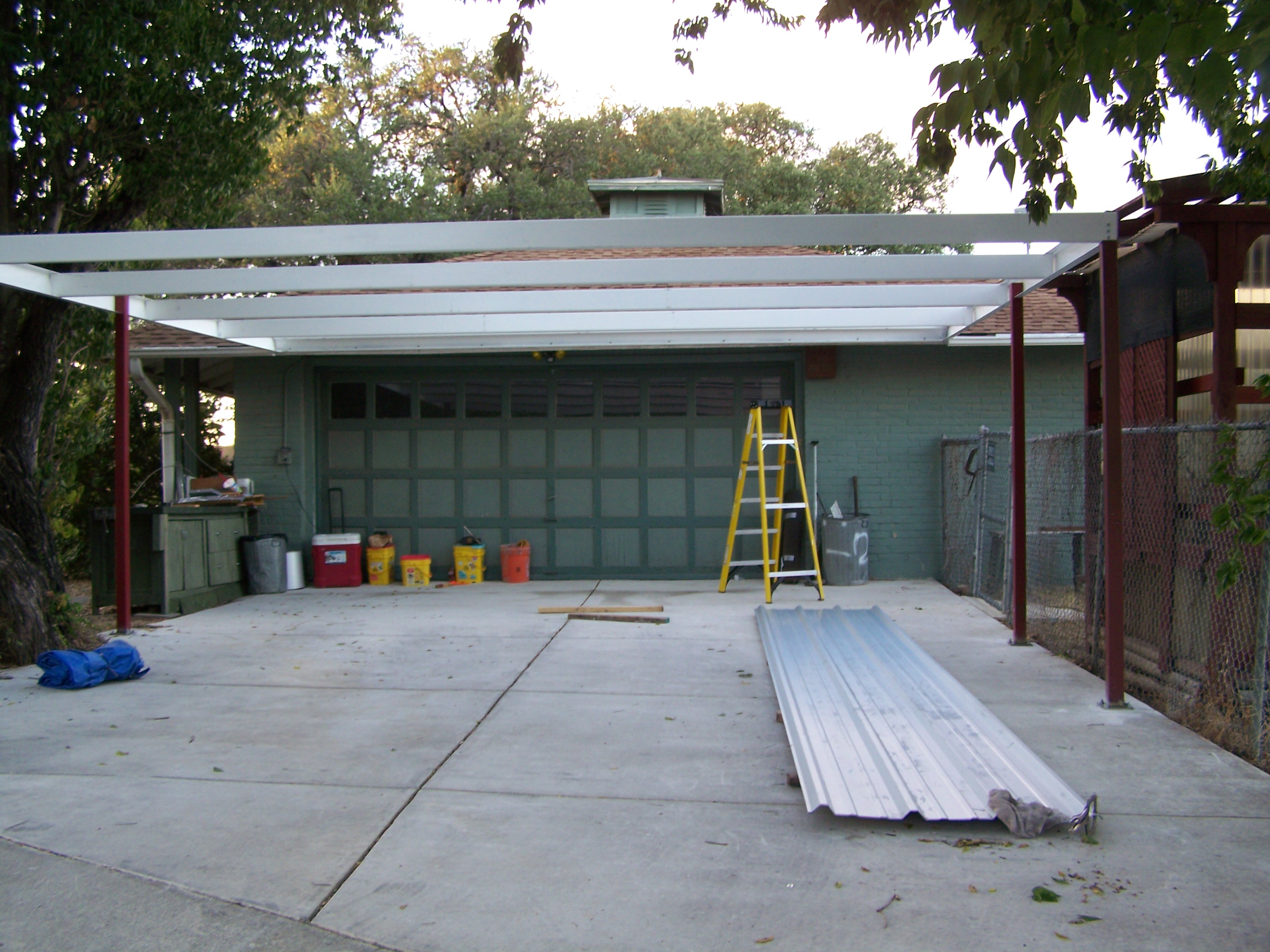 Lean To Carport : Simple lean to carport x san antonio texas