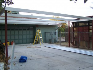 Simple Lean to Carport 21'x22' San Antonio, Texas