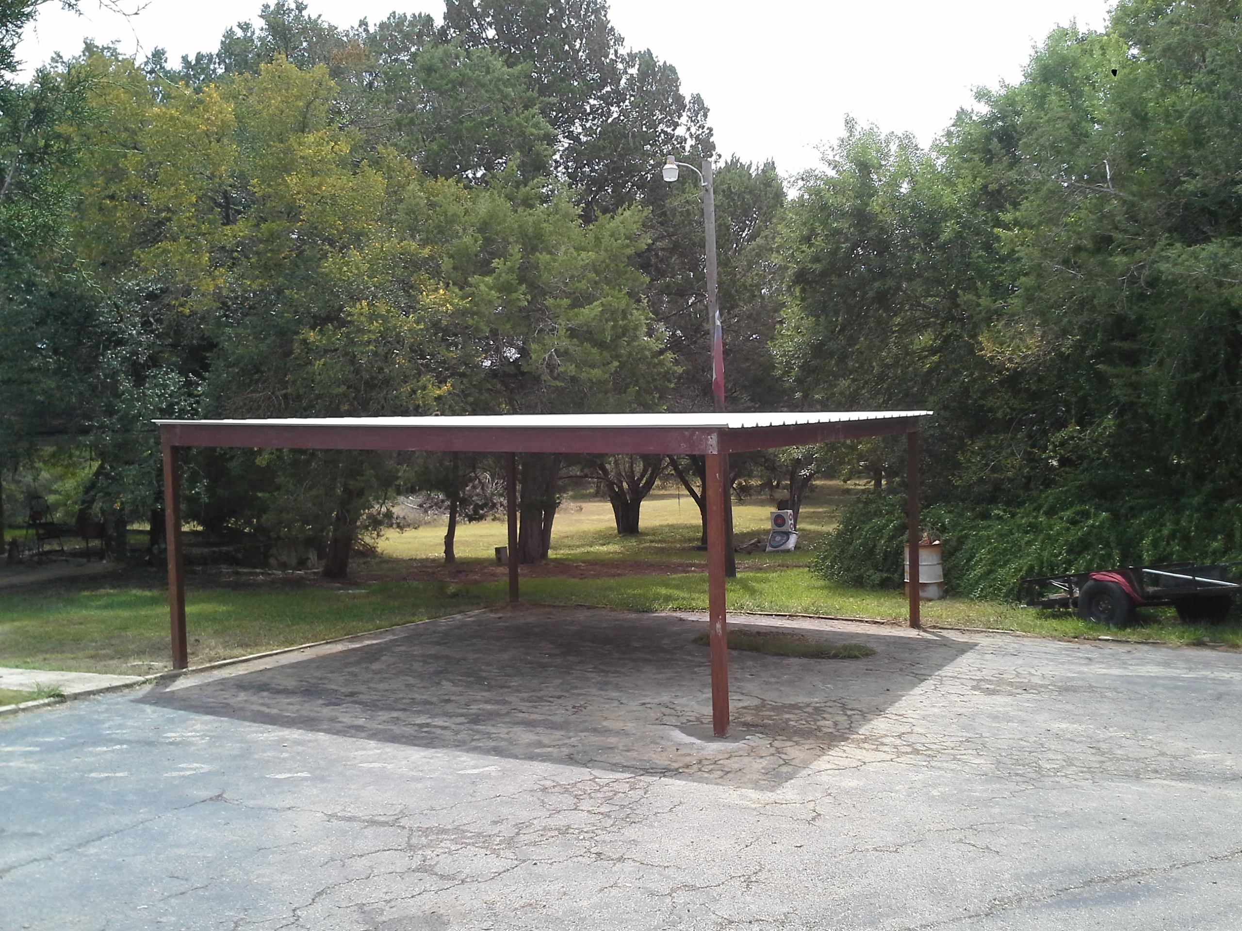 Free standing steel carport plans 11