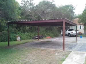 20 x 20 carport  free standing (12)