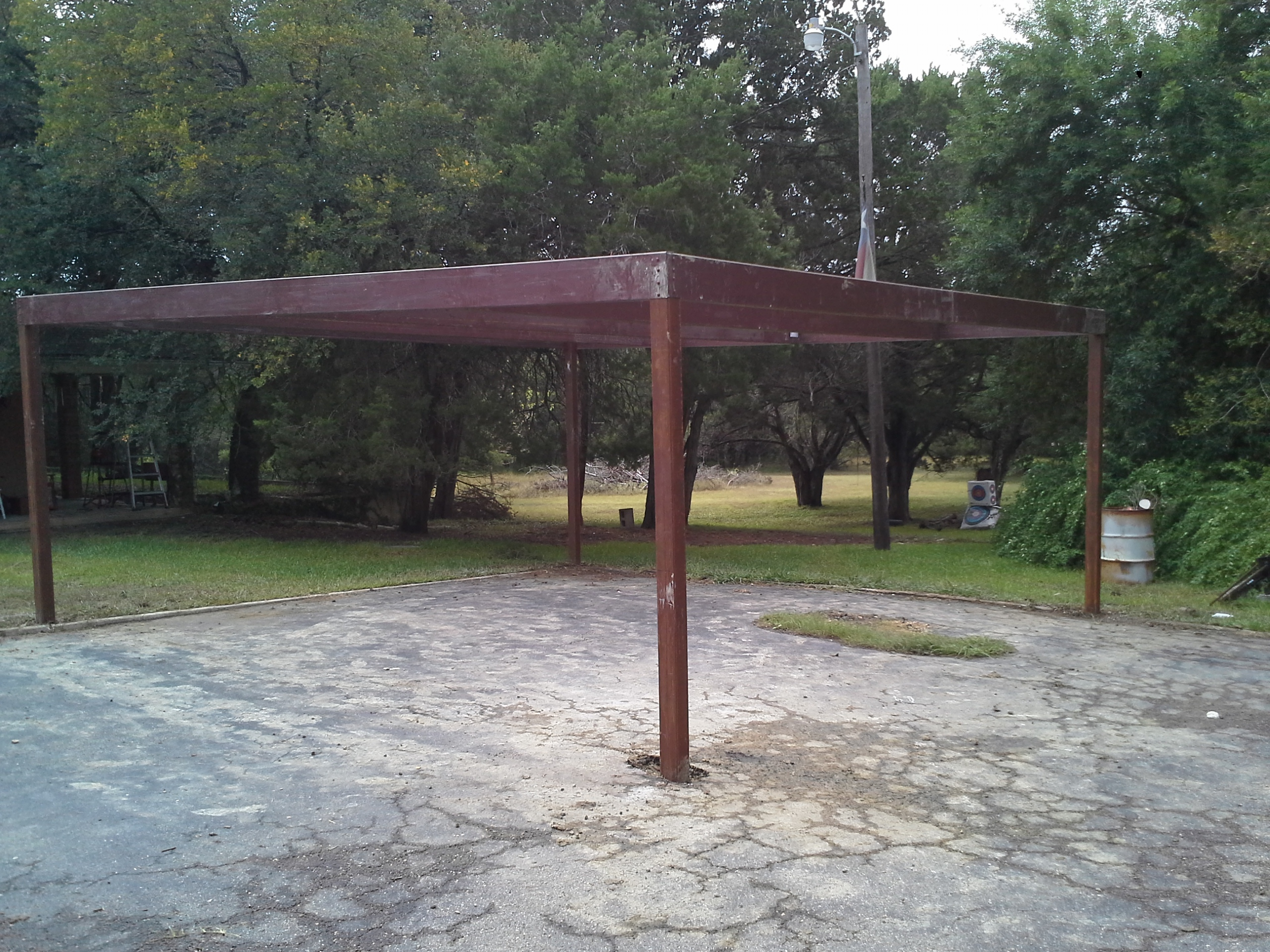 Free Standing All Metal Carport Karnes County Texas ...
