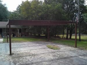20 x 20 carport  free standing (6)