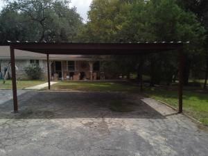 20 x 20 carport  free standing (8)