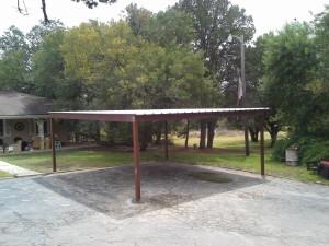 20 x 20 carport  free standing (9)