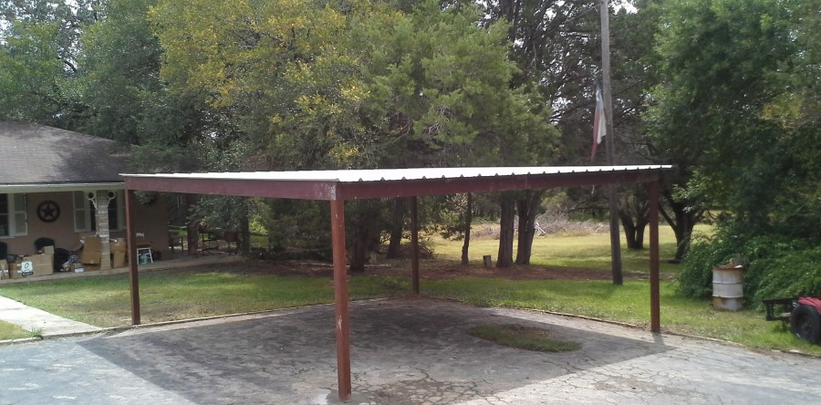 free standing patio covers metal. Free Standing All Metal Carport Karnes County Texas Patio Covers F