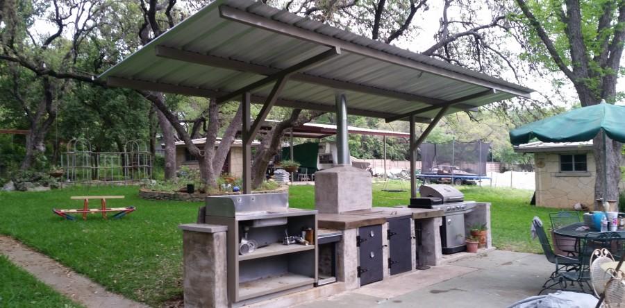 cantilever barbecue cover san antonio carport patio covers