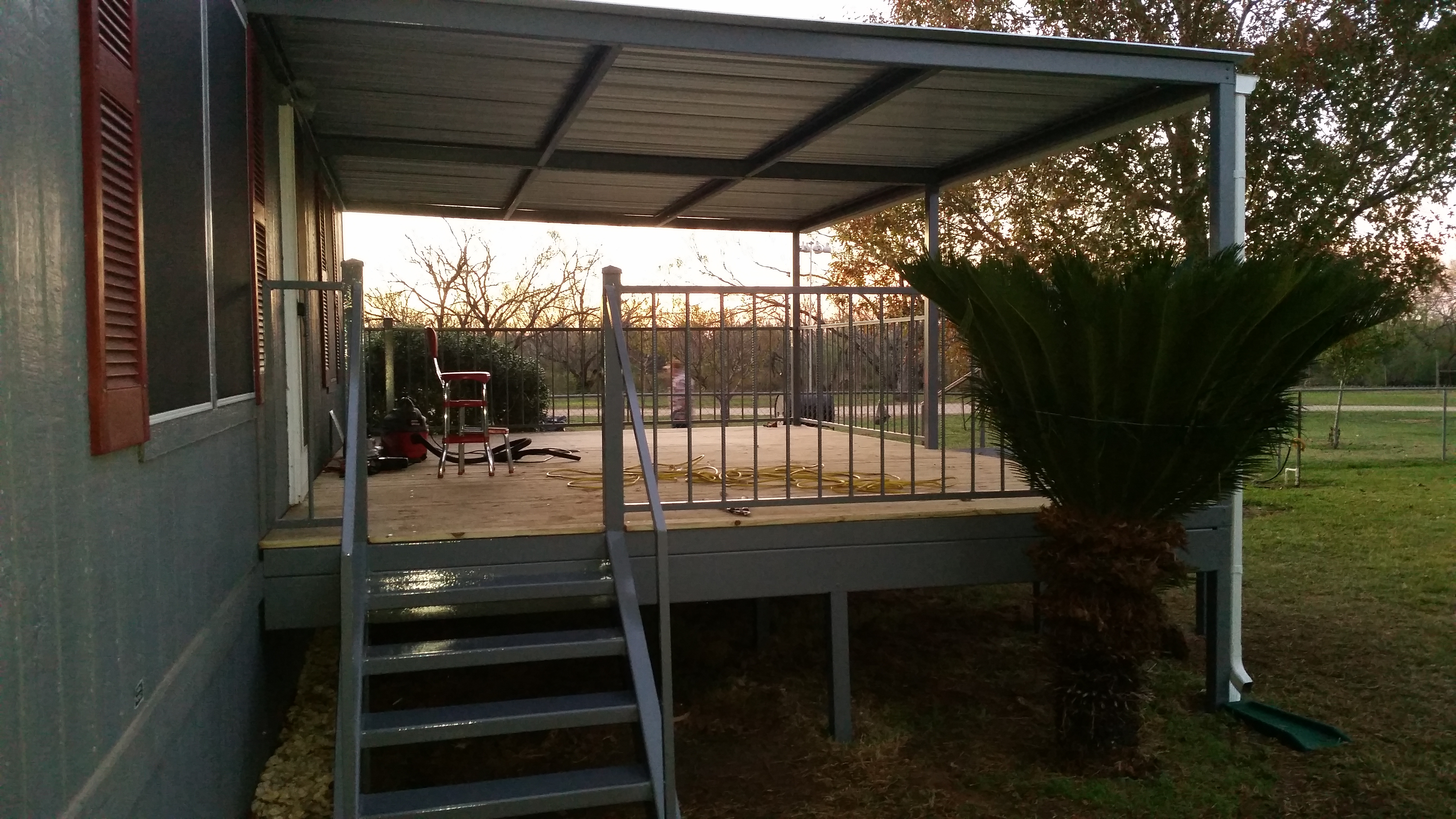 Lytle Texas 14 X21 Patio Deck And Awning Carport Patio