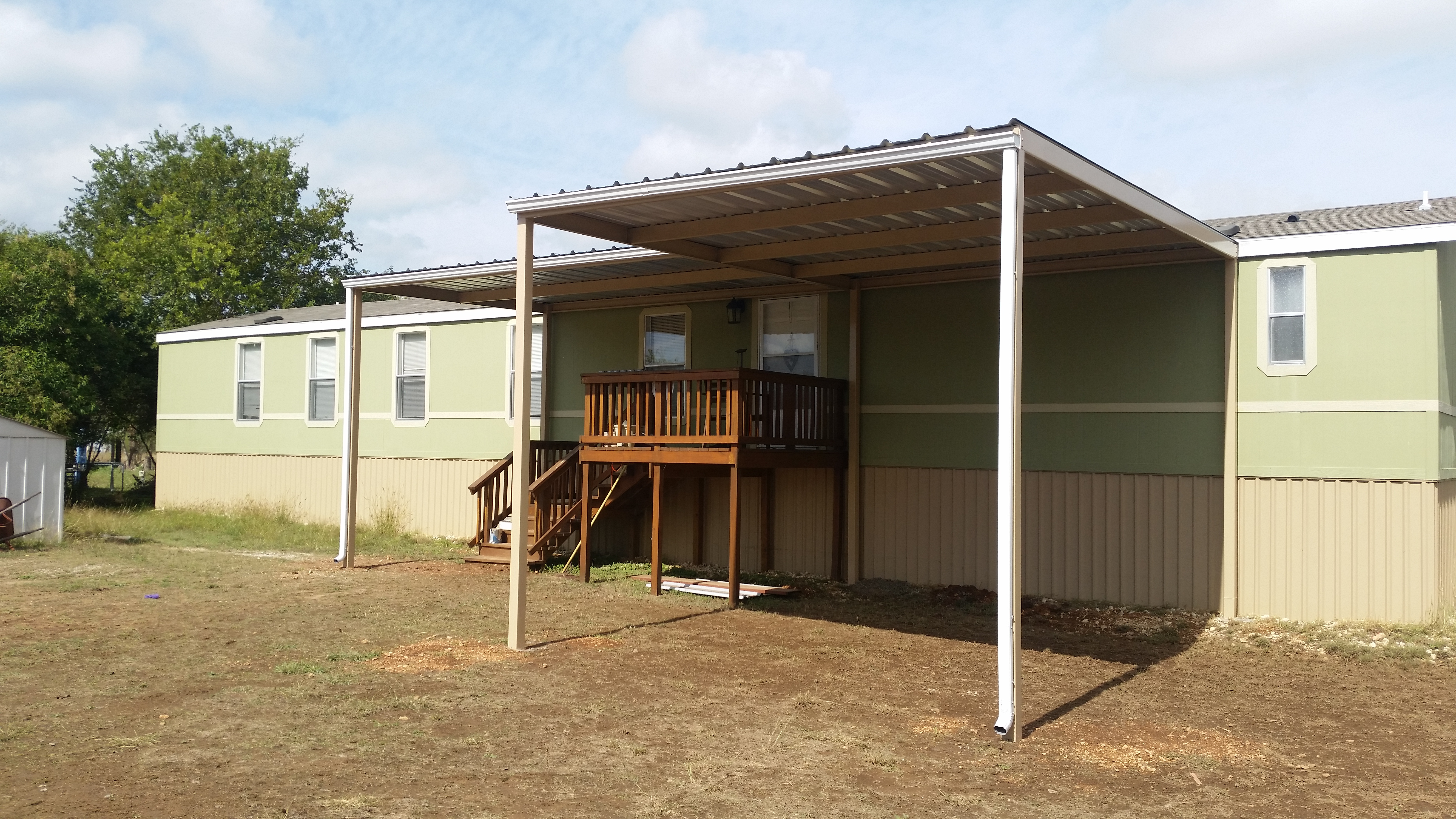 Carports Attached To Mobile Home Photos