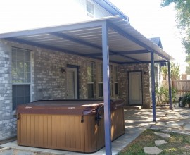 Bitters Area San Antonio Attached Patio Cover