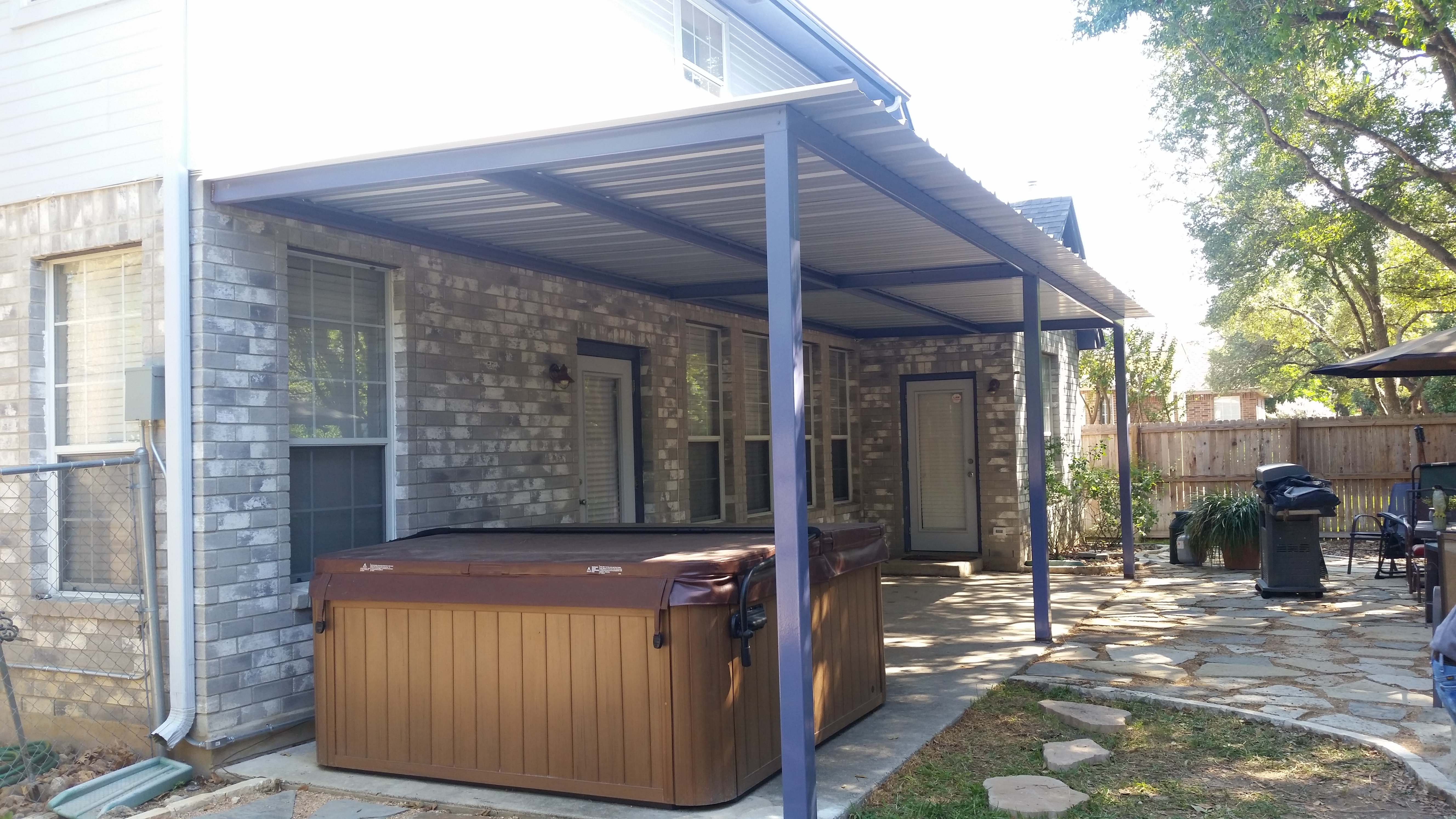 Attached Patio Cover Home Design Ideas and