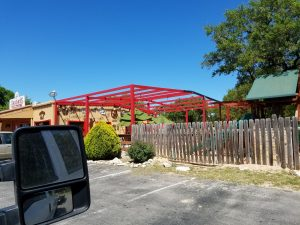 Spring Branch Sandra's Cantina awning