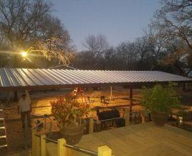 Adkins, Texas  20'x48′ Custom Free Standing Carport