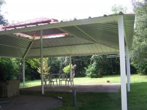 Backyard All Steel Custom Pavilion West San Antonio